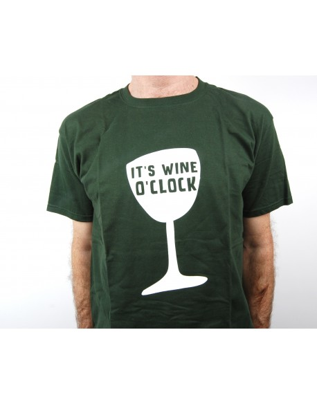 T-Shirt it's Wine o'clock
