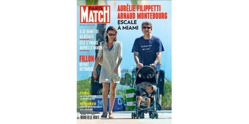 À la une de Paris Match !